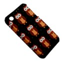 Halloween brown owls  Apple iPhone 3G/3GS Hardshell Case (PC+Silicone) View5