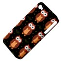 Halloween brown owls  Apple iPhone 4/4S Hardshell Case (PC+Silicone) View4