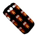 Halloween brown owls  Samsung Galaxy S III Classic Hardshell Case (PC+Silicone) View5