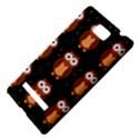 Halloween brown owls  HTC 8S Hardshell Case View4