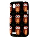 Halloween brown owls  HTC Desire V (T328W) Hardshell Case View3