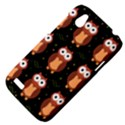 Halloween brown owls  HTC Desire V (T328W) Hardshell Case View4