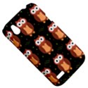 Halloween brown owls  HTC Desire V (T328W) Hardshell Case View5