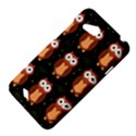Halloween brown owls  HTC Desire VC (T328D) Hardshell Case View4