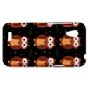 Halloween brown owls  HTC Desire VT (T328T) Hardshell Case View1