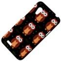 Halloween brown owls  HTC Desire VT (T328T) Hardshell Case View4