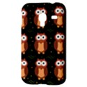 Halloween brown owls  Samsung Galaxy Ace Plus S7500 Hardshell Case View3