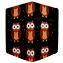 Halloween brown owls  Samsung Galaxy Tab 10.1  P7500 Flip Case View4