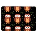 Halloween brown owls  Samsung Galaxy Tab 8.9  P7300 Flip Case View1