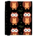 Halloween brown owls  Samsung Galaxy Tab 8.9  P7300 Flip Case View3