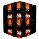 Halloween brown owls  Samsung Galaxy Tab 8.9  P7300 Flip Case View4