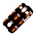 Halloween brown owls  Samsung Galaxy S7710 Xcover 2 Hardshell Case View4