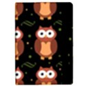 Halloween brown owls  iPad Mini 2 Flip Cases View2