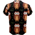 Halloween brown owls  Men s Cotton Tee View2