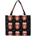 Halloween brown owls  Mini Tote Bag View1