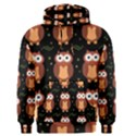 Halloween brown owls  Men s Pullover Hoodie View1