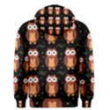 Halloween brown owls  Men s Pullover Hoodie View2