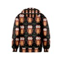 Halloween brown owls  Kids  Pullover Hoodie View2