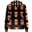 Halloween brown owls  Women s Pullover Hoodie View2