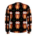 Halloween brown owls  Men s Sweatshirt View1