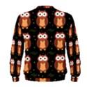 Halloween brown owls  Men s Sweatshirt View2