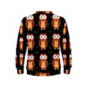 Halloween brown owls  Kids  Sweatshirt View2