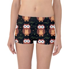 Halloween brown owls  Boyleg Bikini Bottoms