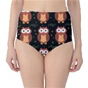 Halloween brown owls  High-Waist Bikini Bottoms View1