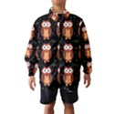 Halloween brown owls  Wind Breaker (Kids) View1