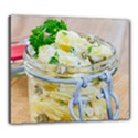 Potato salad in a jar on wooden Canvas 24  x 20  View1