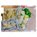Potato salad in a jar on wooden Apple iPad 2 Hardshell Case View1