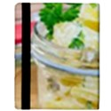 Potato salad in a jar on wooden Apple iPad 2 Flip Case View3