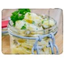 Potato salad in a jar on wooden Samsung Galaxy Tab 7  P1000 Flip Case View1