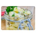 Potato salad in a jar on wooden Samsung Galaxy Tab 10.1  P7500 Flip Case View1