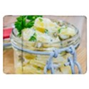 Potato salad in a jar on wooden Samsung Galaxy Tab 8.9  P7300 Flip Case View1