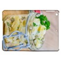 Potato salad in a jar on wooden iPad Air Hardshell Cases View1