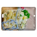 Potato salad in a jar on wooden Amazon Kindle Fire HD (2013) Hardshell Case View1