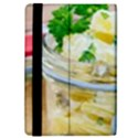 Potato salad in a jar on wooden iPad Mini 2 Flip Cases View4