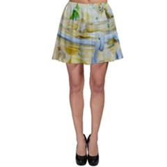 Potato salad in a jar on wooden Skater Skirt
