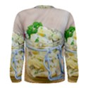 Potato salad in a jar on wooden Men s Long Sleeve Tee View2