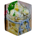 Potato salad in a jar on wooden iPad Air 2 Flip View3