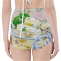 Potato salad in a jar on wooden High-Waisted Bikini Bottoms View2