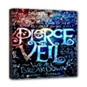 Pierce The Veil Quote Galaxy Nebula Mini Canvas 8  x 8  View1