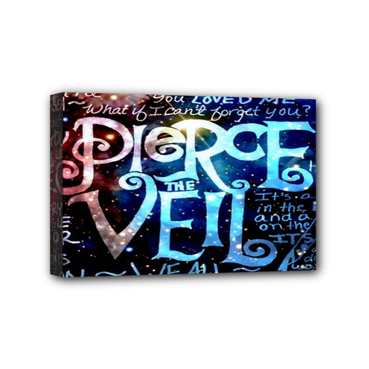 Pierce The Veil Quote Galaxy Nebula Mini Canvas 6  x 4