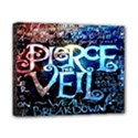 Pierce The Veil Quote Galaxy Nebula Canvas 10  x 8  View1
