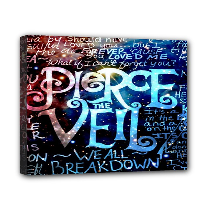 Pierce The Veil Quote Galaxy Nebula Canvas 10  x 8