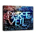 Pierce The Veil Quote Galaxy Nebula Canvas 14  x 11  View1