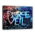 Pierce The Veil Quote Galaxy Nebula Canvas 16  x 12  View1