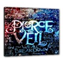 Pierce The Veil Quote Galaxy Nebula Canvas 24  x 20  View1