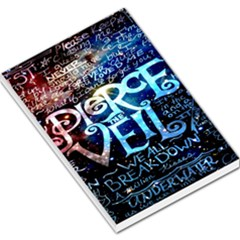 Pierce The Veil Quote Galaxy Nebula Large Memo Pads